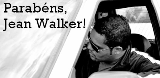 Jean Walker em seu táxi!